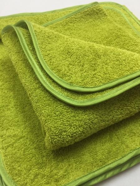 Комплект махровых полотенец-027